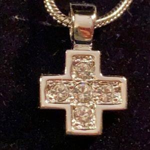 Authentic Swarovski Cross Pendant